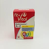 Fit Vital Multivitamine A-Z 100шт Германия