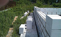 Кладка стен (Газобетон 300мм)(армированная)