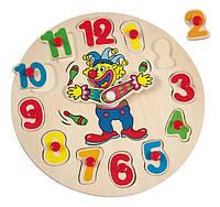 Пазл годинник з клоуном mini