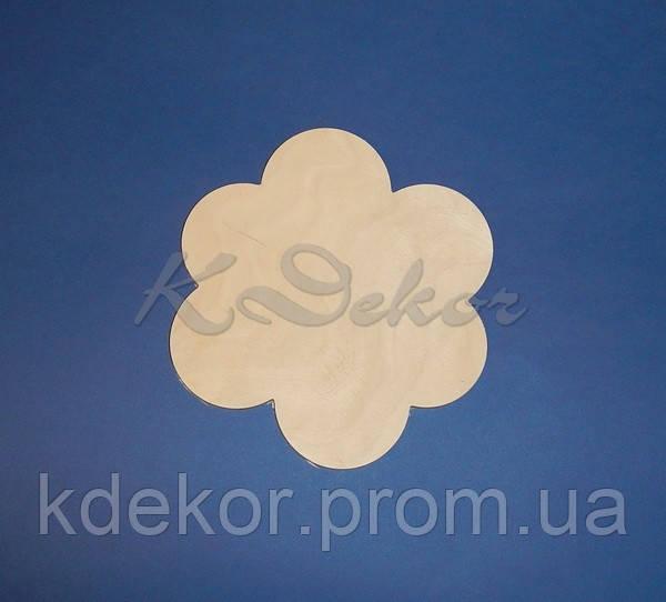 ЦВЕТОК (Цветочек)  досточка панно  заготовка для декупажа