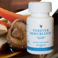 Препарат для поднятия иммунитета - Форевер Иммубленд .Включает лактоферрин, грибы маитаке и шиитаке и др.