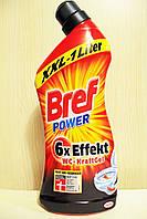 Bref 6 в 1 гель для чистки унитаза против ржавчины 1000мл (Германия)