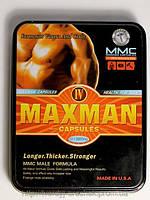 MaxMan IV (восточные природные компоненты) средство для увеличения потенции
