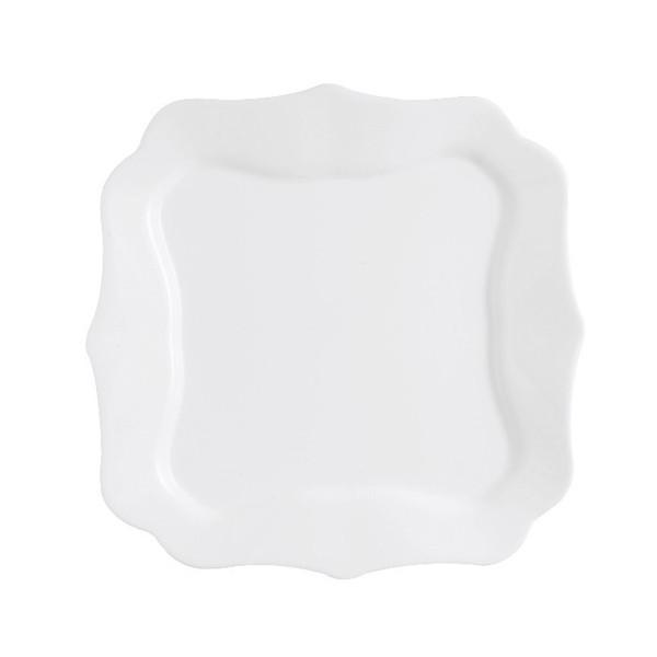 Authentic White тарелка обеденная квадратная 26 см Luminarc D8728