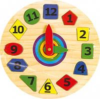 Годинник-пазл Геометрія 2