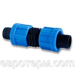 Муфта зажимная для ленты Drip Tape, Dn17*Dn17 (МЗ 17)