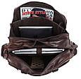 """Кожаная сумка для ноутбука 15,6 """" S.J.D. 7150Q, коричневая, фото 9"""