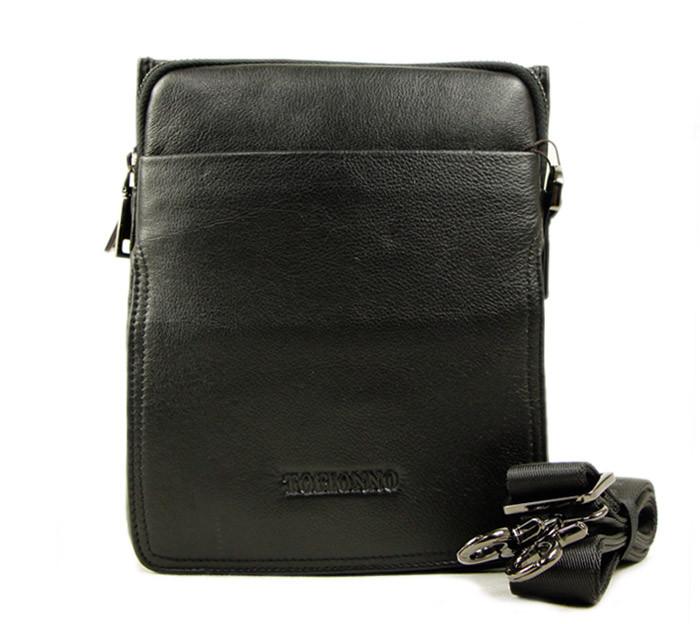 ba3660636c27 Компактная и практичная повседневная мужская кожаная сумка Tofionno  TF00407-51