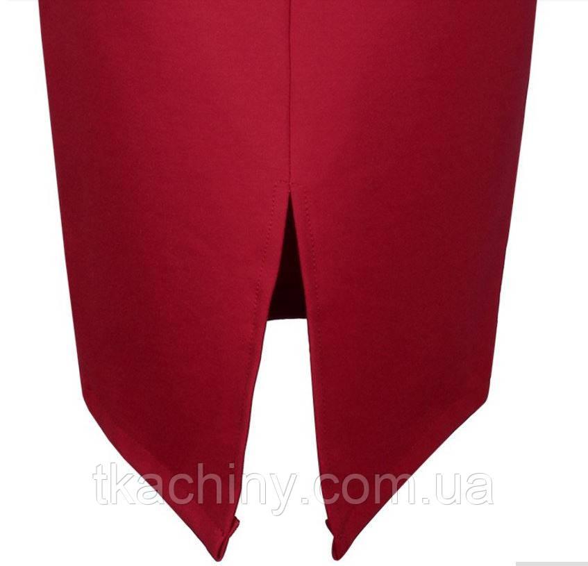 Юбка красная карандаш