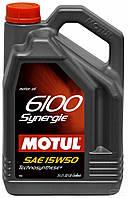 Motul 6100 Synergie 15W-50, 5л.