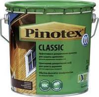 PINOTEX CLASSIC Эффективное средство для защиты древесины с декоративным эффектом 10л
