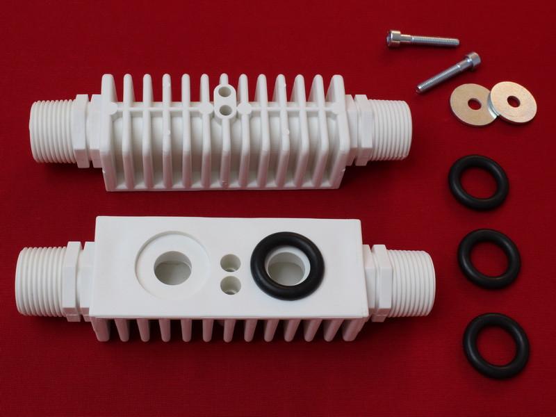 Адаптер для промывки вторичного теплообменника Паяный теплообменник Alfa Laval CB20 Артём