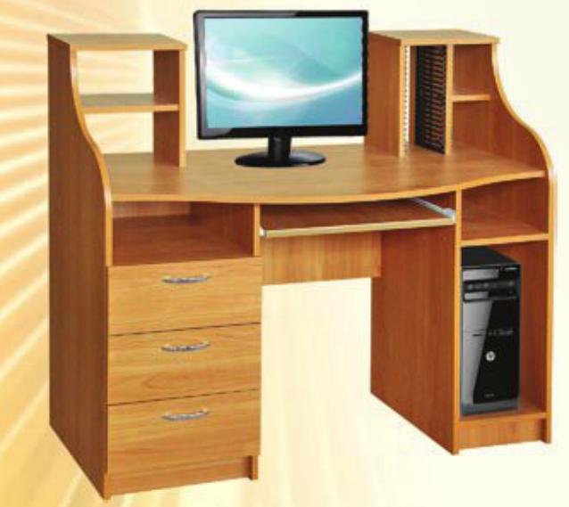 Стол компьютерный Одиссей Пехотин