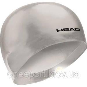 Шапочка для плавания HEAD 3D Racing p. L серая (код 213-126269)