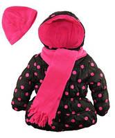 Куртка с шарфом и шапкой Pink Platinum (США) для девочки 2-3 года