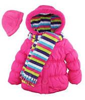 Куртка с шарфом и шапкой Pink Platinum (США) для девочки 2-6 лет