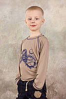 Детский реглан с принтом для мальчика | 3-8 лет, фото 1