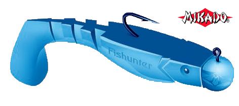Силиконовые приманки Mikado Fishunter 7см
