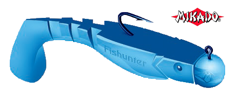 Силиконовые приманки Mikado Fishunter 8см
