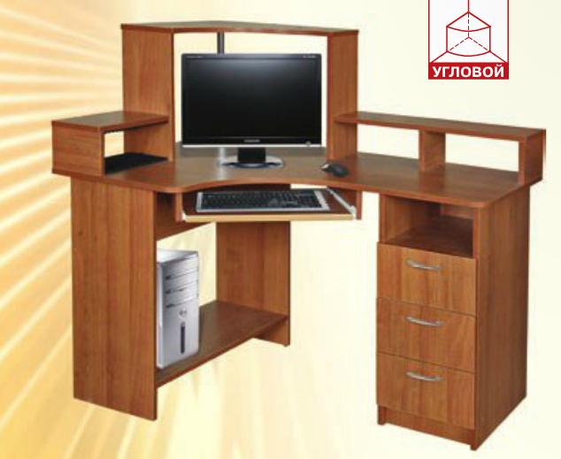 Стол компьютерный Лидер Пехотин