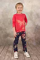 Детский модный реглан для девочки от производителя Коралл