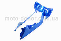 Пластик для Viper  Active   бардачка (синий)