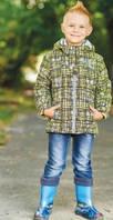 Детская демисезонная куртка для мальчика (V121-16), Baby Line