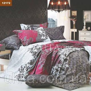 Полуторное постельное белье ранфорс Вилюта 12172