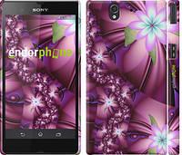 "Чехол на Sony Xperia Z C6602 Цветочная мозаика ""1961c-40"""
