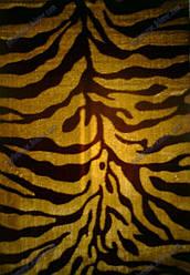 """Ворсистый ковер Сибель shaggy, """"Тигр"""", рельефный, цвет коричневый"""