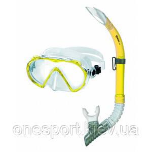 Набор для плавания Mares Alize желтый + сертификат на 50 грн в подарок (код 213-154402)