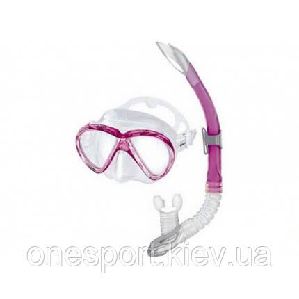 Набор для плавания Mares Marea розовый + сертификат на 100 грн в подарок (код 213-154420), фото 2