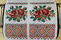 """Свадебный рушник чистый """"Розы"""" (36х156)"""