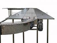 Пластинчатый транспортер многоручьевой