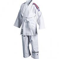 Кимоно ADIDAS (дзюдо) 3 белый + сертификат на 100 грн в подарок (код 179-190694)