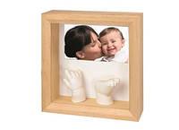 Набор для создания детских слепков + фоторамка Photo Sculpture Frame (Natural), Baby Art