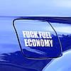 Виниловая наклейка на авто - Economi