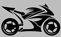 Виниловая наклейка на авто - Байк 1, фото 1