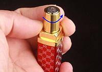 Электронная USB зажигалка с аккумулятором в виде губной помады