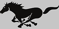 Виниловая наклейка на телефон - Лошадь, фото 1