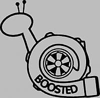 Виниловая наклейка на авто - Турбо-улитка, фото 1
