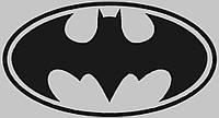 Виниловая наклейка на холодильник - бэтмен