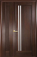 Комплект дверей двустворчатых Делла универсальная от Новый стиль (венге new, зол.ольха, каштан, ясень, grey)