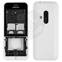 Корпус для Nokia 220, белый - оригинальный