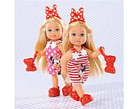 Кукла Evi Minnie Mouse с браслетом для девочки Simba 5747701