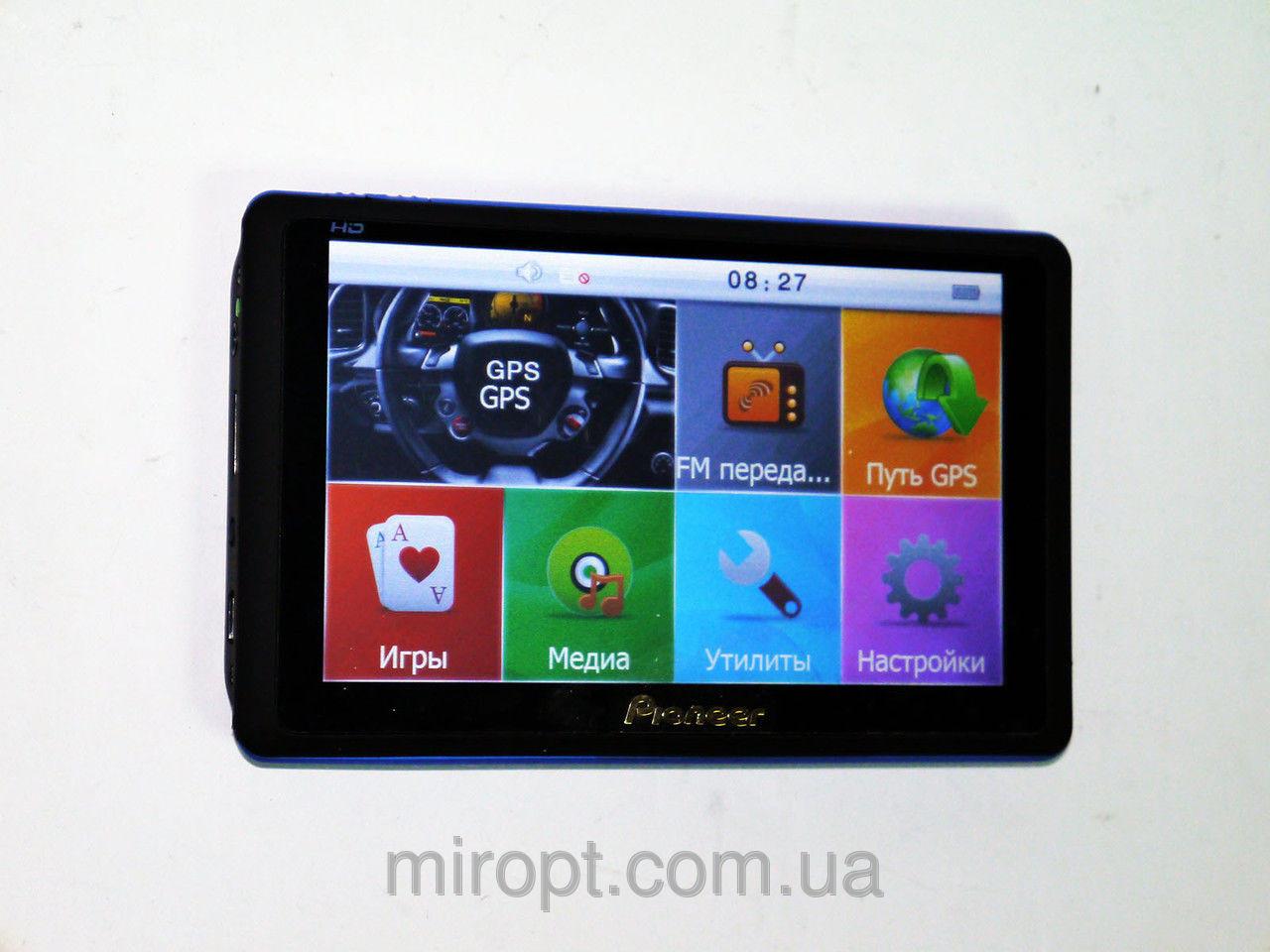 GPS-навигатор Pioneer 7008 новая модель ультратонкая