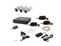 Комплект видеонаблюдения Tecsar 3OUT, фото 1