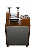 Машинка для горячего тиснения ремней (прокатка ремней)