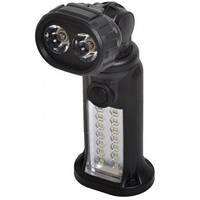2 в 1 - Кемпинговый, аварийный фонарь (14+2 LED, 2 режима, 4xAAA)