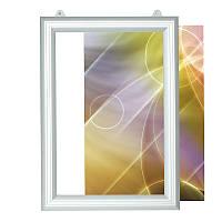 Рамка алюминиевая двухсторонняя А0 с боковой сменой изображения (вертикальная)